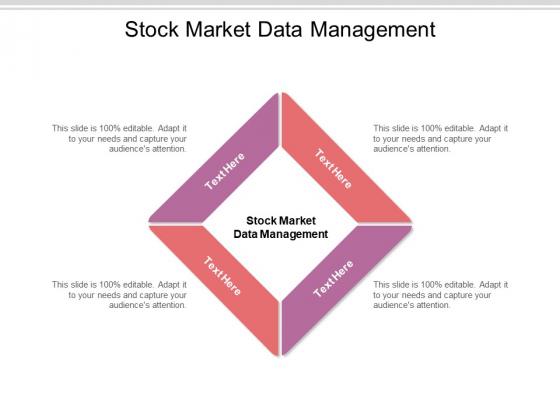 Stock Market Data Management Ppt PowerPoint Presentation Inspiration Introduction Cpb Pdf