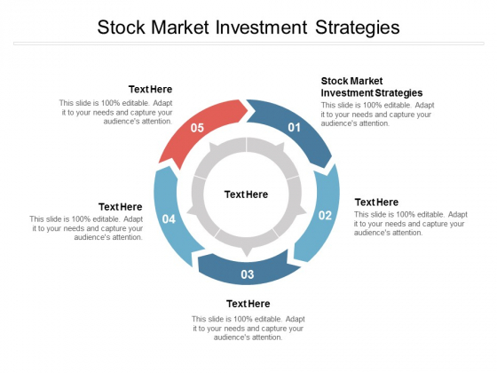 Stock Market Investment Strategies Ppt PowerPoint Presentation Gallery Cpb