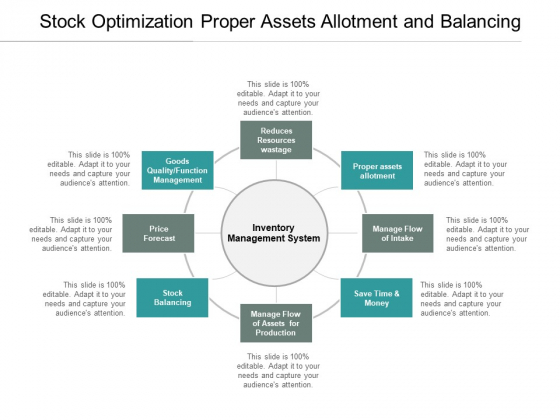 Stock Optimization Proper Assets Allotment And Balancing Ppt PowerPoint Presentation Professional Styles
