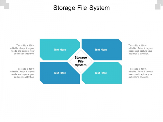 Storage File System Ppt PowerPoint Presentation Layouts Vector Cpb Pdf