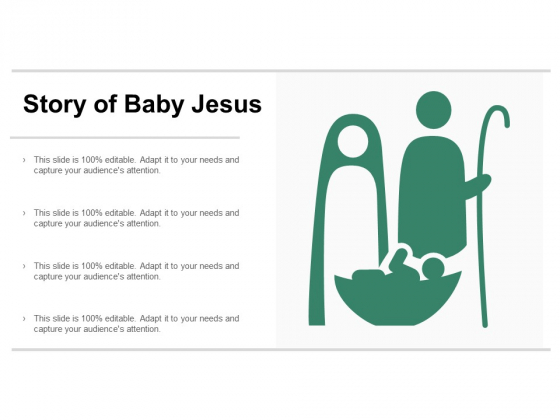 Story Of Baby Jesus Ppt PowerPoint Presentation Portfolio Backgrounds