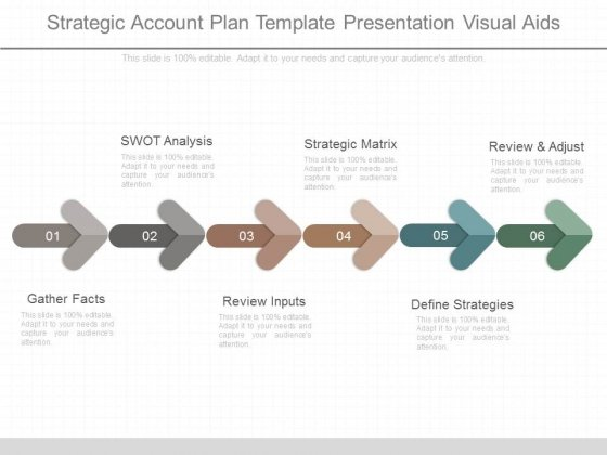 Strategic Account Plan Template Presentation Visual Aids