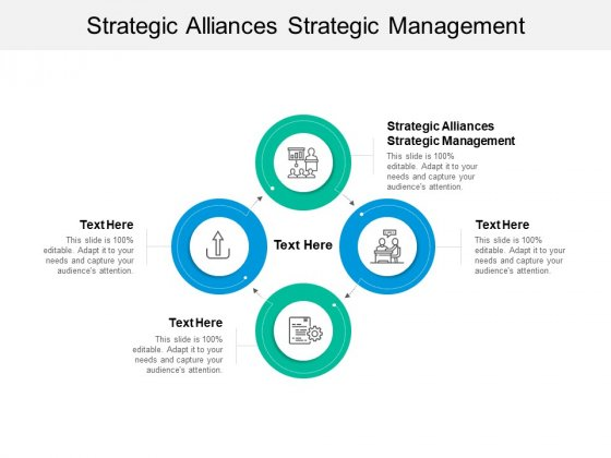 Strategic Alliances Strategic Management Ppt PowerPoint Presentation Infographic Template Maker Cpb
