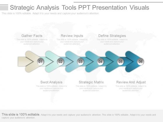 Strategic Analysis Tools Ppt Presentation Visuals