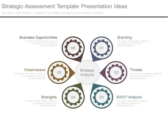Strategy assessment template.
