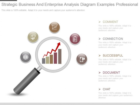 Strategic Business And Enterprise Analysis Diagram Examples Professional