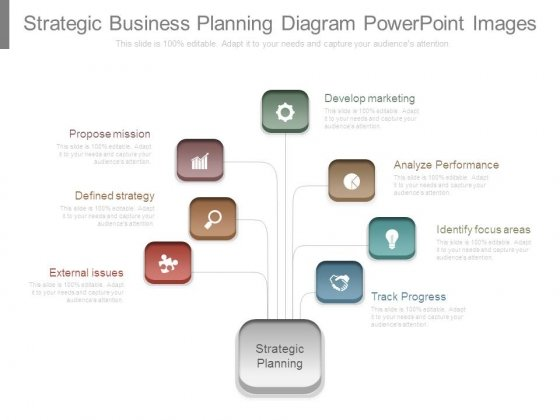 Strategic Business Planning Diagram Powerpoint Images