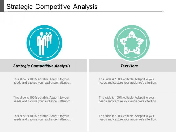Strategic Competitive Analysis Ppt PowerPoint Presentation Portfolio Clipart