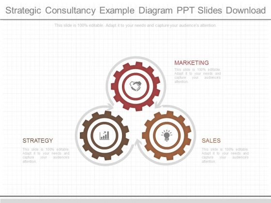 Strategic Consultancy Example Diagram Ppt Slides Download