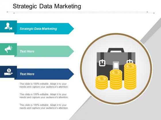Strategic Data Marketing Ppt PowerPoint Presentation Summary Gridlines Cpb