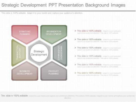 Strategic Development Ppt Presentation Background Images