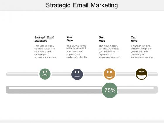Strategic Email Marketing Ppt PowerPoint Presentation Show Background Designs