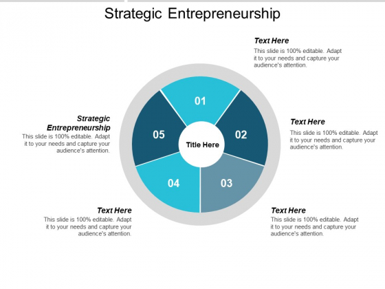 Strategic Entrepreneurship Ppt PowerPoint Presentation Show Example Topics Cpb