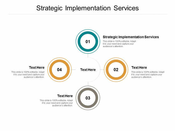Strategic Implementation Services Ppt PowerPoint Presentation Summary Influencers Cpb