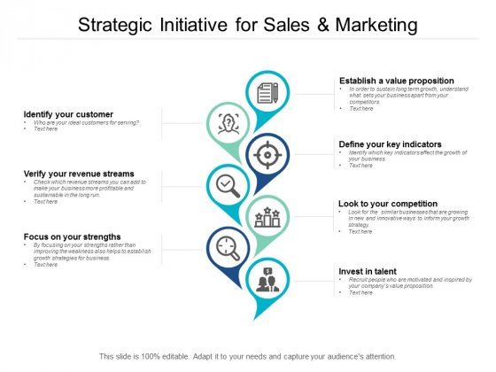 Strategic Initiative For Sales And Marketing Ppt PowerPoint Presentation Summary Picture