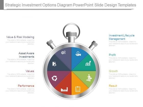 Strategic Investment Options Diagram Powerpoint Slide Design Templates