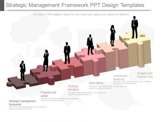 Strategic Management Framework Ppt Design Templates