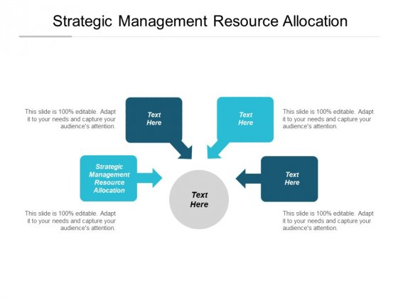 Strategic Management Resource Allocation Ppt PowerPoint Presentation Infographic Template Inspiration Cpb