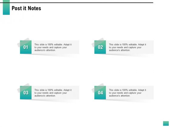 Strategic Manpower Management Post It Notes Ppt Icon File Formats PDF