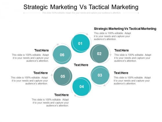 Strategic Marketing Vs Tactical Marketing Ppt PowerPoint Presentation File Microsoft Cpb