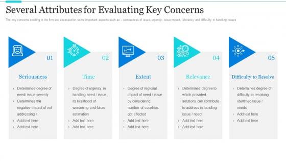 Strategic Methods Of Stakeholder Prioritization Several Attributes For Evaluating Key Concerns Inspiration PDF