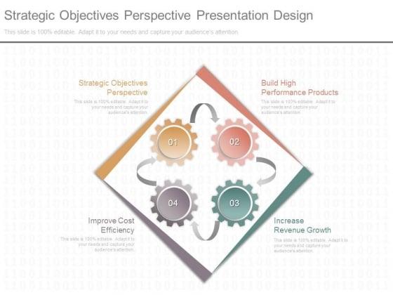 Strategic Objectives Perspective Presentation Design