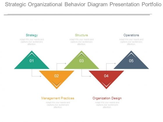 Strategic Organizational Behavior Diagram Presentation Portfolio