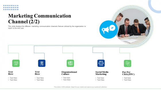 Strategic Plan For Business Expansion And Growth Marketing Communication Channel Professional PDF