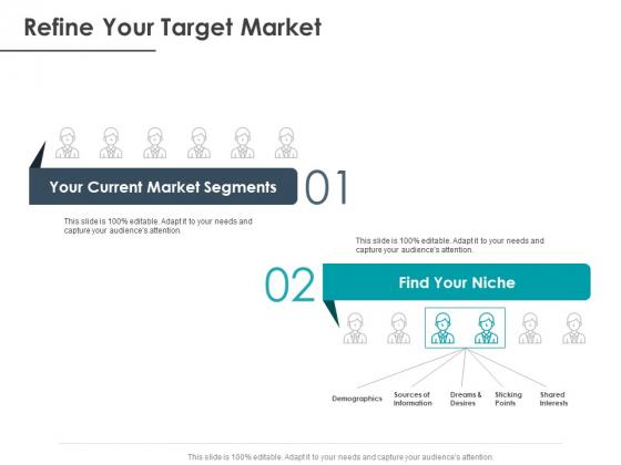 Strategic Plan For Companys Development Refine Your Target Market Ppt PowerPoint Presentation Ideas