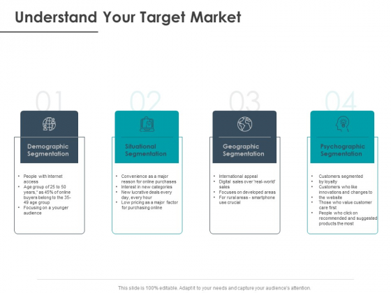 Strategic Plan For Companys Development Understand Your Target Market Ppt PowerPoint Presentation File Objects