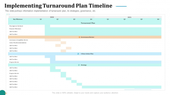 Strategic_Plan_For_Corporate_Recovery_Implementing_Turnaround_Plan_Timeline_Sample_PDF_Slide_1