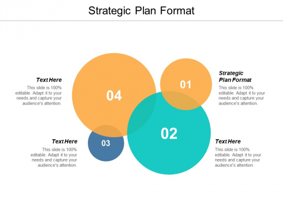 Strategic Plan Format Ppt PowerPoint Presentation Inspiration Guidelines Cpb