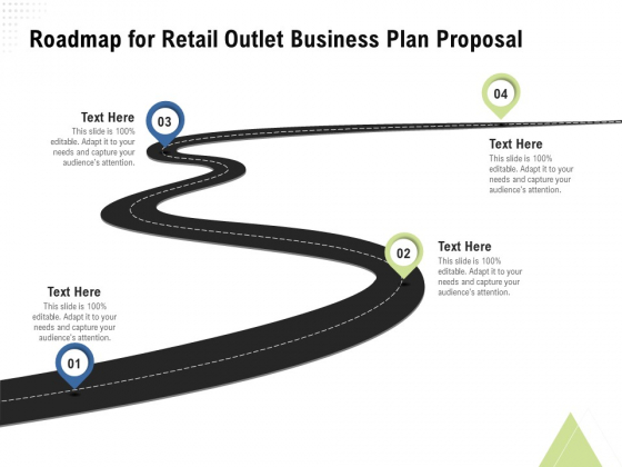 Strategic Plan Retail Store Roadmap For Retail Outlet Business Plan Proposal Ppt Styles Example Topics PDF