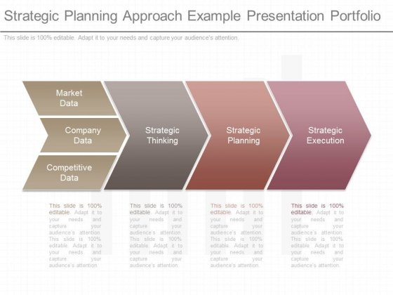 Strategic Planning Approach Example Presentation Portfolio