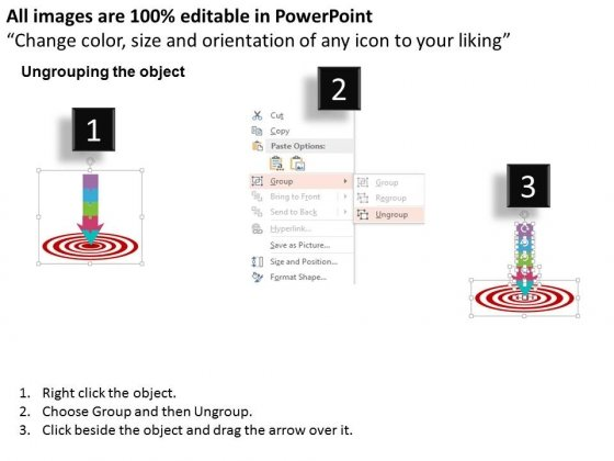 Strategic_Planning_Arrow_For_Target_Achievement_Powerpoint_Template_2