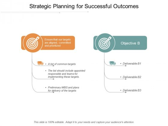 Strategic Planning For Successful Outcomes Ppt Powerpoint Presentation Outline Templates