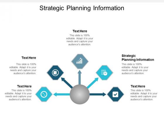 Strategic Planning Information Ppt PowerPoint Presentation Diagram Templates Cpb