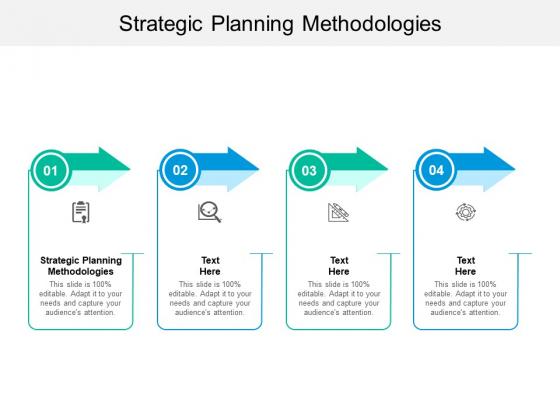Strategic Planning Methodologies Ppt PowerPoint Presentation Gallery Graphics Tutorials Cpb