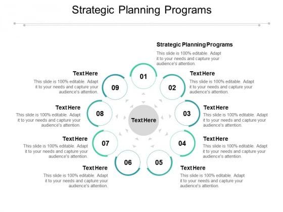 Strategic Planning Programs Ppt PowerPoint Presentation Styles Information Cpb Pdf