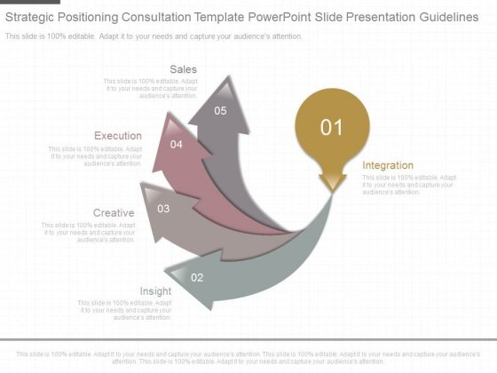 Strategic Positioning Consultation Template Powerpoint Slide Presentation Guidelines