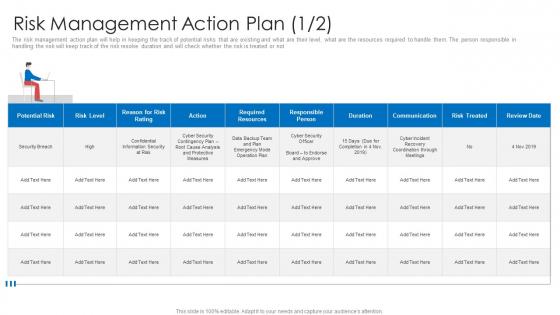 Strategic Prioritization Company Projectsrisk Management Action Plan Nov Pictures PDF