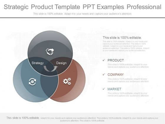 Strategic Product Template Ppt Examples Professional
