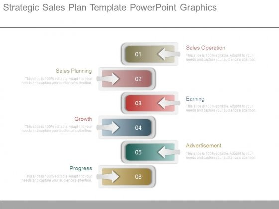 Strategic Sales Plan Template Powerpoint Graphics