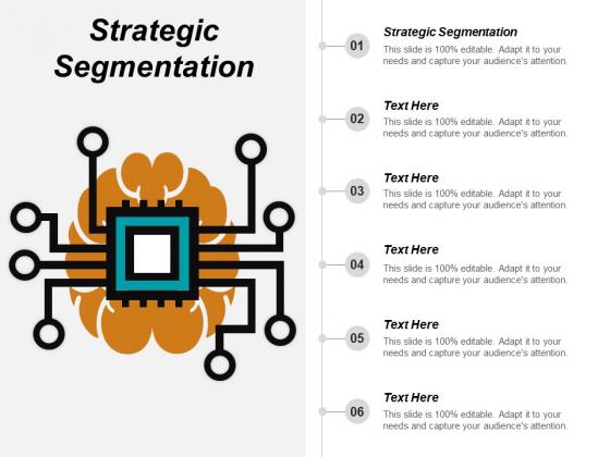 Strategic Segmentation Ppt PowerPoint Presentation Pictures Icon Cpb