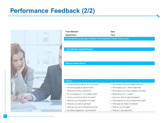 Strategic Talent Management Performance Feedback Team Ppt PowerPoint Presentation Outline Show PDF
