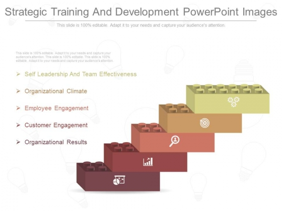 Strategic Training And Development Powerpoint Images