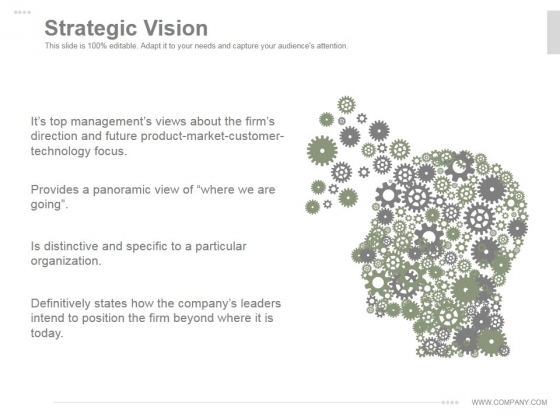 Strategic Vision Ppt PowerPoint Presentation Inspiration