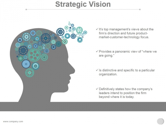 Strategic Vision Ppt PowerPoint Presentation Summary