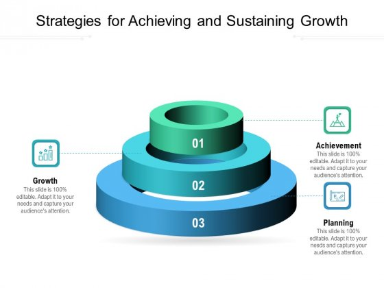 Strategies For Achieving And Sustaining Growth Ppt PowerPoint Presentation File Picture PDF