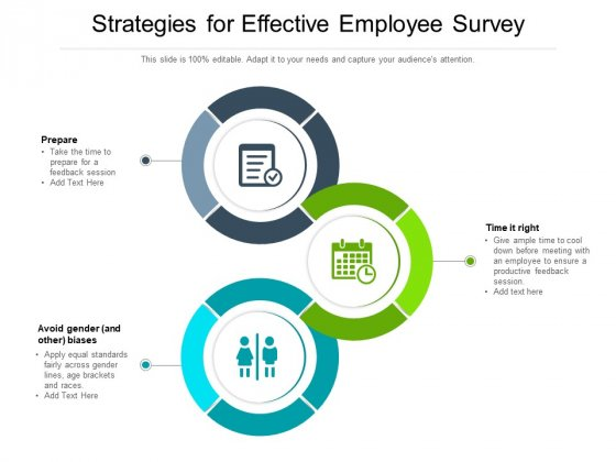 Strategies For Effective Employee Survey Ppt PowerPoint Presentation Infographics Shapes PDF